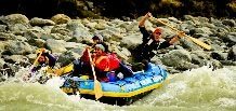 8 day 200km Rafting Expedition