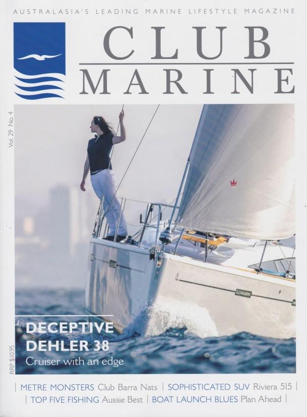 Club Marine Magazine front page